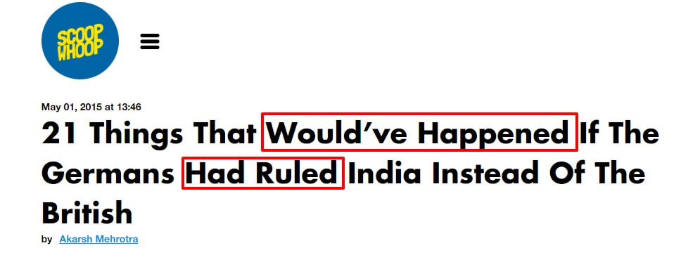 21 Things That Would've Happened If The Germans Had Ruled India Instead Of The British
