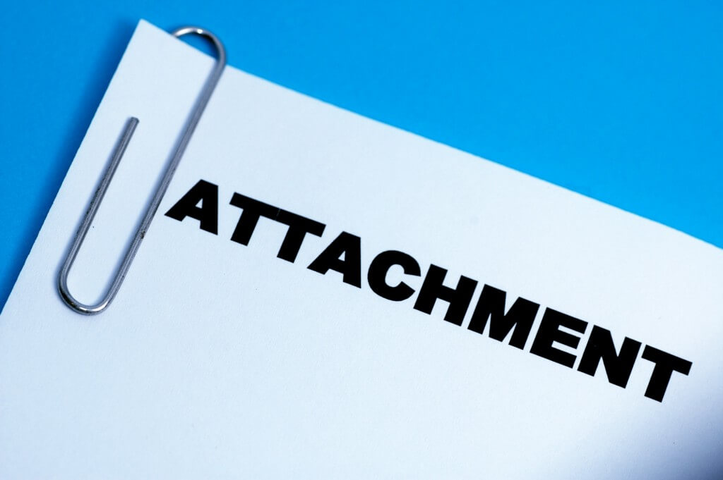 Please Find Attached File: How to Mention Attachment