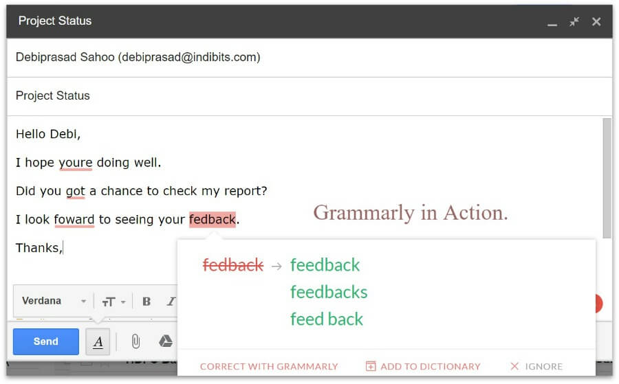 grammary-in-action